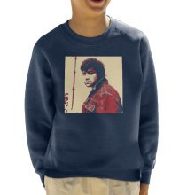 Oliver Reed English Actor Poster Style Print Kid's Sweatshirt