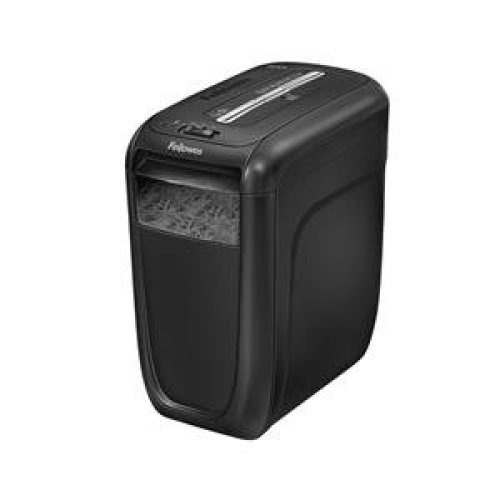 Fellowes 60CS Cross shredding Black paper shredder