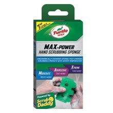 Turtle Wax Max Power Hand Cleaning Sponge Cleans Paint, Grease, Dirt & Mud
