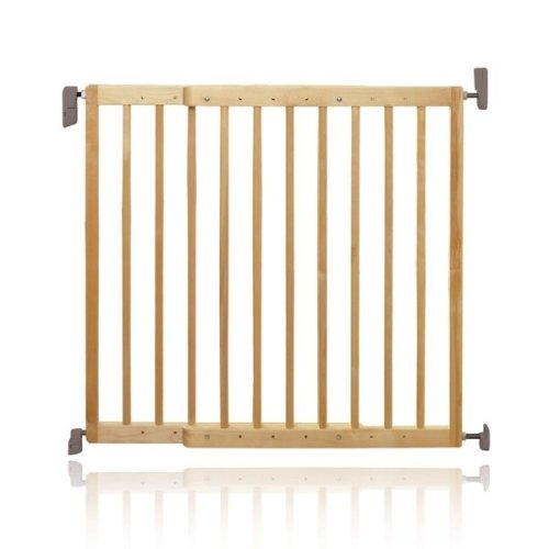Lindam Wooden Extending Stair Gate 62-106cm