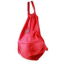 Basketball Soccer Volleyball Pocket Training Bag Outdoor Sport Organizer Backpack-Red
