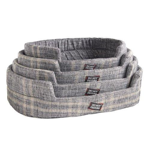 Do Not Disturb Tartan Grey 4 Pack