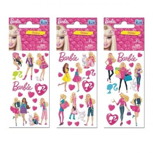 Barbie Stickers - Set of 3 Sheets