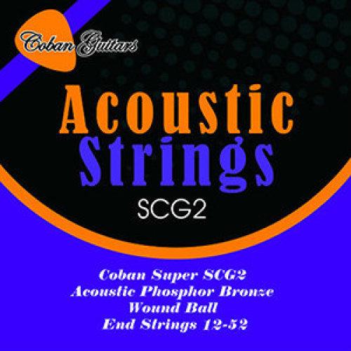 Coban Guitars SCG2 Acoustic PHOSPHORUS BRONZE
