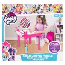 My Little Pony Colouring Table With 5M Roll & 8 Jumbo Crayons