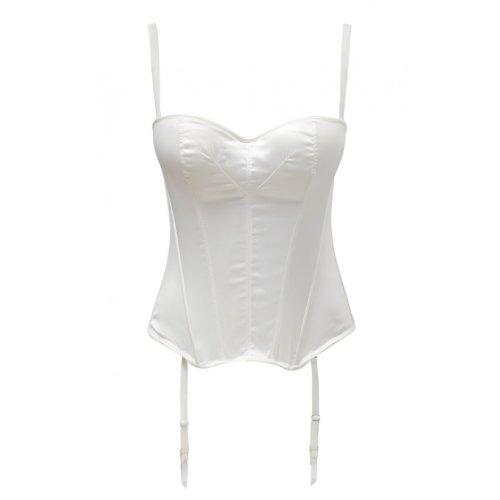 Panache Harlequin Tiffany Strapless Bustier 5437 -  Ivory - 36E