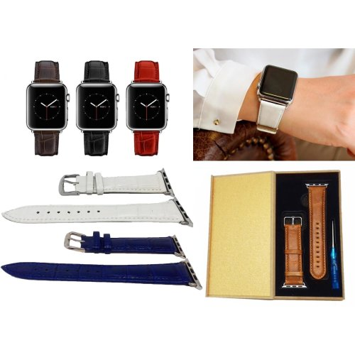 Leather Apple Watch Strap Band iWatch Wrist