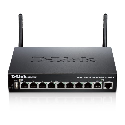 D-Link DSR-250N Gigabit Ethernet Black