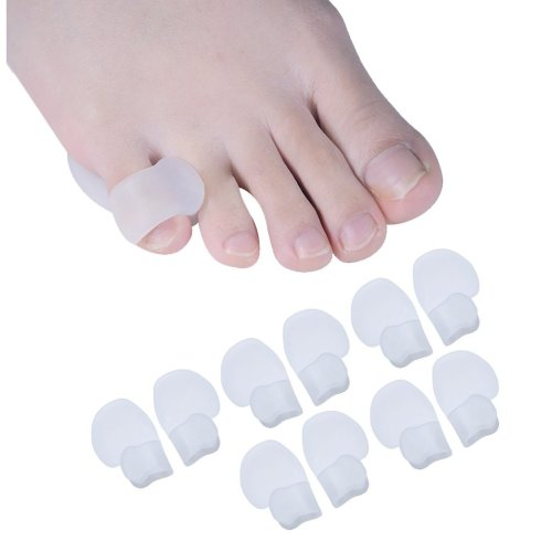 Sumiwish Pinky Toe Protector, Sturdy Little Toe Sleeves Guard Cushion for Walking, Running, Relief Feet Pressure and Pain 5 Pairs Pinky Toe Cushion