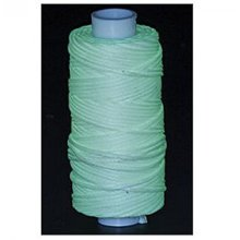 Waxed Braided Cord 25 Yds. Glow In The Dark 11210-40 By Tandy Leather -  waxed braided cord 25 yds 229 m glow dark 1121040
