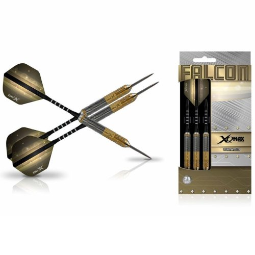 XQmax Darts Dart Set Falcon 3 pcs 25g Brass Steel QD1103180