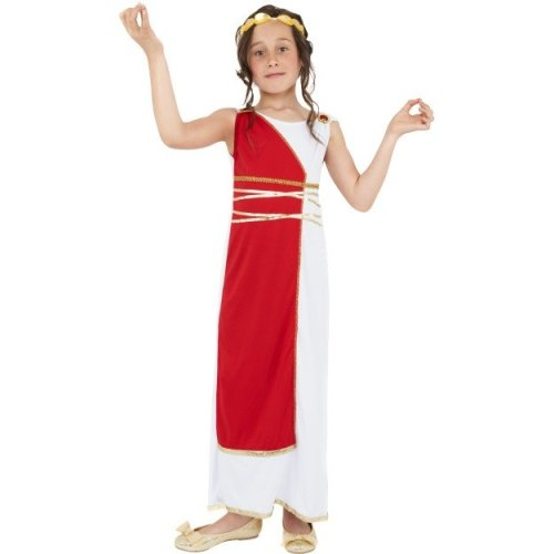 (Medium) Kids Grecian Girl Costume