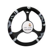 37-39cm Real Madrid Velvet Steering Wheel Cover - Official Fc Black Car Glove -  real madrid velvet steering wheel cover official fc black car glove