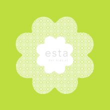 wallpaper lace flowers lime green - 114952