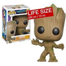 FUNKO POP Guardians of the Galaxy Vol 2 Groot 10 inch Lifesize Exclusive
