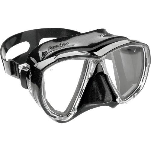 Cressi 1946 Big Eyes Scuba Diving and Snorkeling Mask - Black