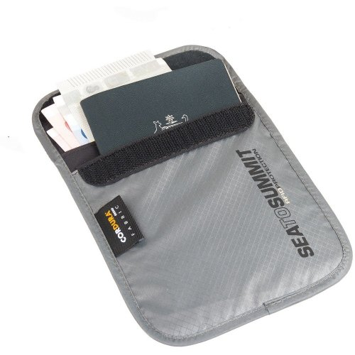 Sea to Summit RFID Proof Passport Pouch (Grey)