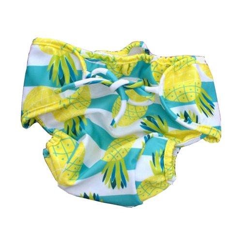 [Pineapple] Reuseable Baby Swim Diaper Lovely Infant Swim Nappy Swimwear