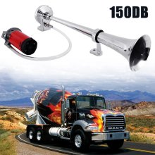 Single Trumpet Air Horn Powerful Loud Compressor For Truck Train Boat