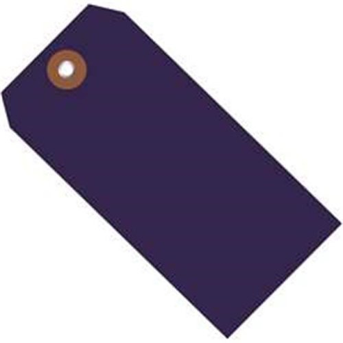 Box Partners G26062 6.25 x 3.12 in. Blue Plastic Shipping Tags - Pack of 100