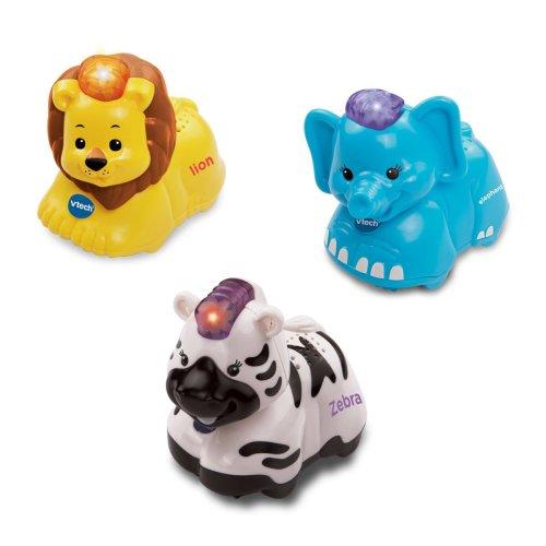 Vtech Toot Toot Animals 3 Pack ( Elephant, Zebra, Lion)