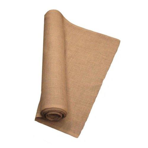 LA Linen 60IN-Burlap-20YardRoll 20 Yards Burlap Fabric, Natural - 60 in.